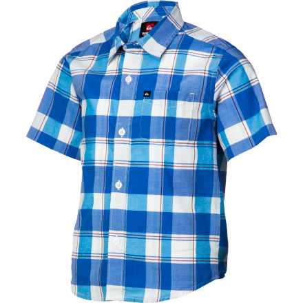 Surf Quiksilver El Pat Shirt - Short-Sleeve - Little Boys' - $27.00