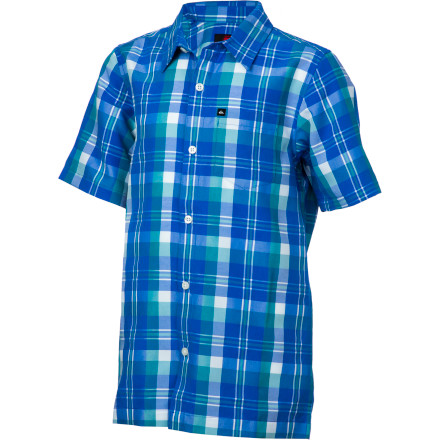 Surf Quiksilver Flying Home Shirt - Short-Sleeve - Boys' - $31.50