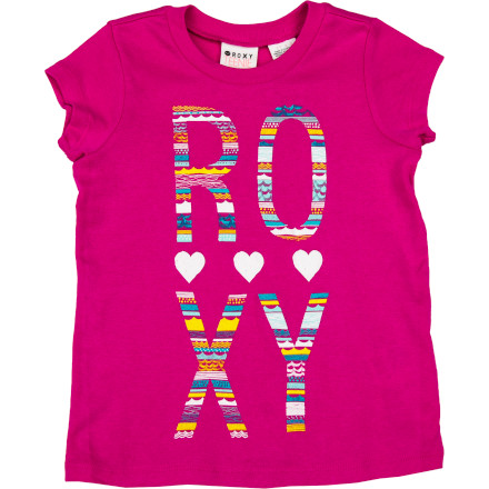 Surf Roxy Clear Eyes Shirt - Short-Sleeve - Toddler Girls' - $18.00