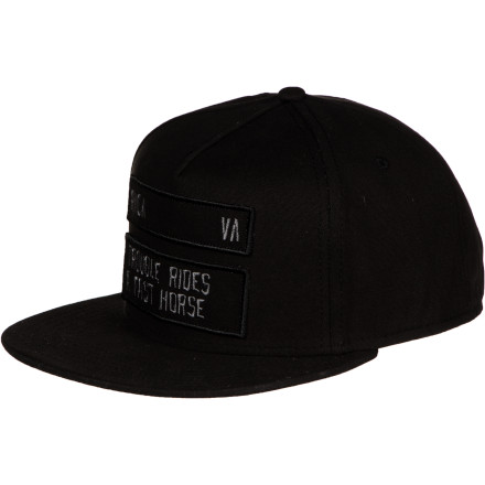 RVCA Trouble Snapback Hat - $23.36