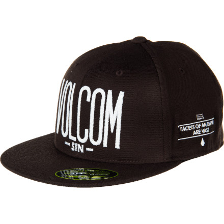 Surf Volcom DWP 210 Fitted Hat - $20.96