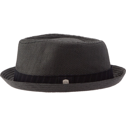 As Coal's newest spring Fedora, the Considered Parker Paper Straw Fedora adds a little something fresh to your warm-weather ensemble. Paper straw is lightweight and cool, perfect for warm days in the sun. Pinstripe banding and a metal badge add some subtle details to an otherwise classic profile that looks great whether you're dressed to the nines or just kicking back in a tee. - $44.95