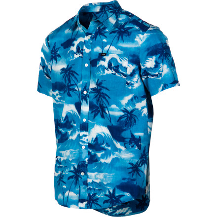 Surf Hurley Island Shirt - Short-Sleeve - Men's - $34.62