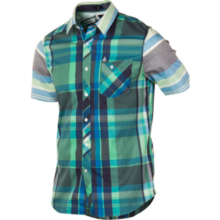 Surf Volcom Lonsway Shirt - Short-Sleeve - Men's - $32.97