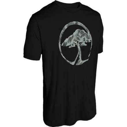 The Arbor Men's Knotted T-Shirt is made in L.A. Tell all your friends about this organic-cotton and viscose-from-bamboo tee. It feels so buttery smooth that you might go into a comfot-coma while sitting at the bus stop. - $17.37