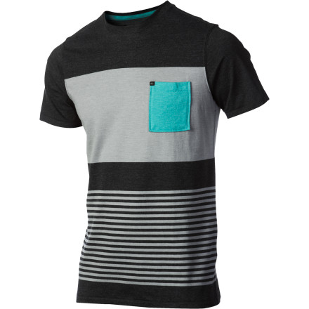 Surf Quiksilver Captain Crew - Short-Sleeve - Men's - $27.20