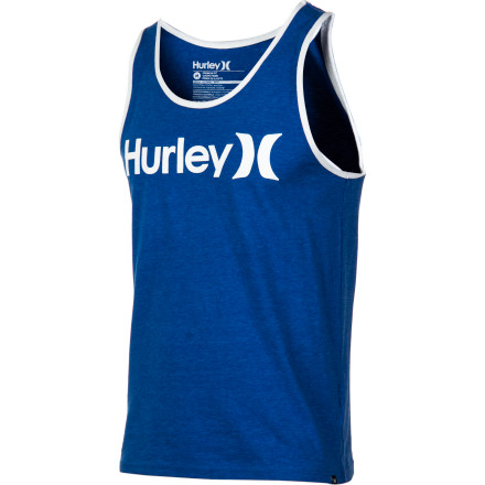 Surf The Hurley One And Only Tank is simplicity at its finest. - $19.96