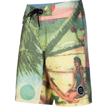 Surf All you'll be able to think about are pia coladas and palm trees once you slip on the Analog Domingo Men's Board Short. The vintage print will have you feeling island vibes no matter where you're swimming. - $47.16