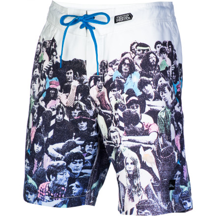 Surf If you put your ear up to the Imperial Motion Listen Men's Board Short, you can actually hear the ocean. OK, maybe not, but it is made with a stretchy fabric to keep you comfy while you play in the surf. - $35.97