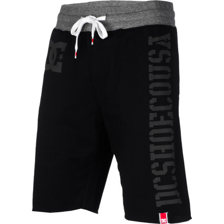 Skateboard Take a break from skating today and shoot some hoops with the homies in the DC Rob Dyrdek Teamworks Champ Men's Short. This cotton and polyester blend athletic short is comfy and great for getting active or just sitting around the house on those too-lazy-to-wear-pants kind of days. - $36.00