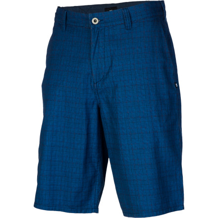 Skateboard Keep things cool and comfy this summer with the DC Brenton Men's Short. The light cotton fabric and relaxed fit will have you feeling like you've got it made in the shade when the heat is on. - $35.75