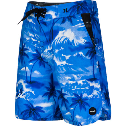 Surf Get a nice afternoon skate session in and then take a dip in the pool after to cool off in the Hurley Cool By The Pool Boardwalk Men's Short. It's designed to work as well in the water as it does on land, so you don't have to pack any extra clothes when you head out for a full day of activities. - $41.62