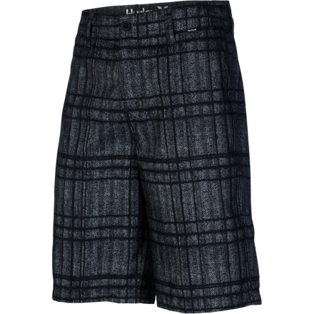 Fitness When the occasion calls for it, go ahead and take the plunge in the Hurley Mariner Intersect Boardwalk Men's Short. The lightweight supersuede fabric is soft and comfortable for wearing around town, but it also dries quickly in case you decide on a whim that you need to go for a swim halfway through your day. - $37.09