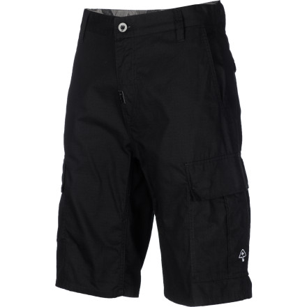 Whether it's your cell phone and your car keys or a pocket knife and bug spray, cargo shorts just hold more stuff. Expand your carrying capabilities with the LRG Core Collection Classic Men's Cargo Short. - $55.95