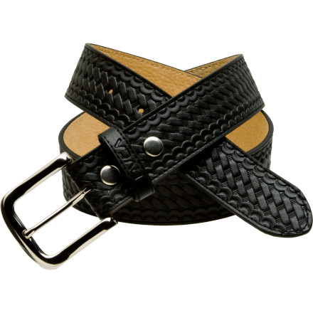 The uses for a good leather belt like the RVCA Romero Belt are almost limitless, especially when you add a beer holster. The last time you had to escape from a Russian spy prison, you couldn't slide down the telephone lines because you weren't wearing a strong leather belt. Don't let it happen again. - $16.98