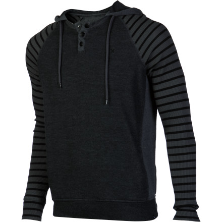 Surf Hurley Barrio Hooded Shirt - Long-Sleeve - Men's - $44.51