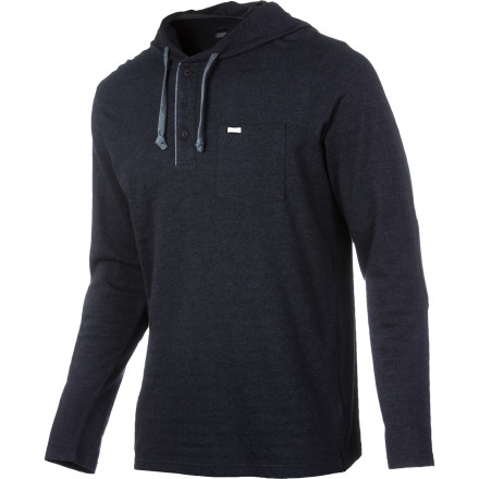 Entertainment RVCA Shopkeeper Henley Pullover Hoodie - Men's - $53.95