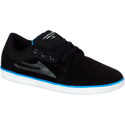 Skateboard If you want to go big without destroying your heels, but still want the board feel to pull off tech tricks, check out the Lakai Howard Men's Skate Shoe. It features Lakai's XLK sole, which gives you the shock absorbing and support benefits of a traditional cup sole, while still retaining excellent board feel thanks to strategically thinned rubber and Equa-Form cushioning. - $57.56