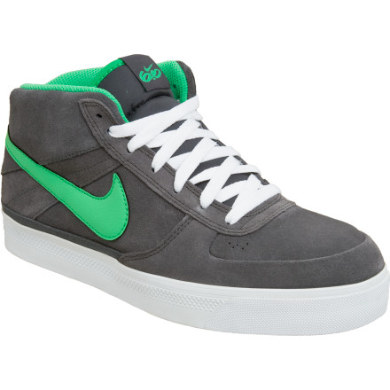 Skateboard Nike 6.0s Marvrk Mid 2 Skate Shoe delivers supportive and comfortable old-school skate style with modern performance lurking underneath. Phylon midsole cushioning reduces shock from harsh landings, while the mid-top design saves your ankles during bails. A low-pro rubber outsole provides board feel to spare. - $59.96