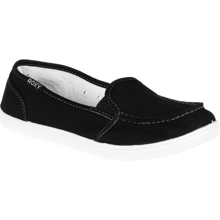 Surf The Roxy Women's Lido II Shoe is lightweight and comfortable so your feet will feel unfettered and unburdened by the demands of a stressful world. Your brain already has to deal with the details, let your feet play. - $32.00