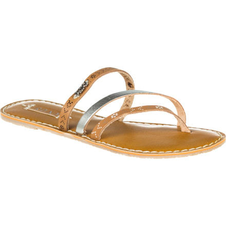 Surf Earn your beads in the Roxy Women's Mardi Gras Sandal; they give out beads for having cute shoes, right - $39.20