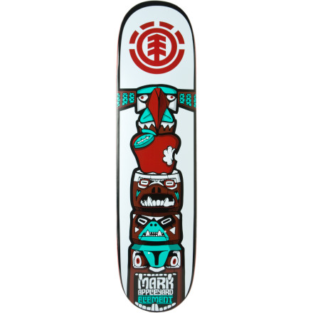 Skateboard Your spirit animal will speak to your heart and your Element Totem Skate Deck will take you to a place of solitudebe it a sweat lodge or a place with a lot of ramps, rails, and ledges. - $39.96