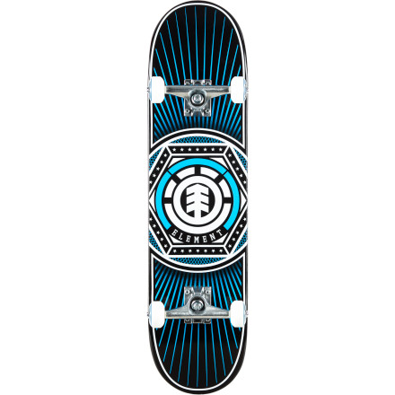 Skateboard Spring into action with the Element Hexagon Complete Skateboard. Hexagons your favorite shape, and now you can skate one, too! - $89.95