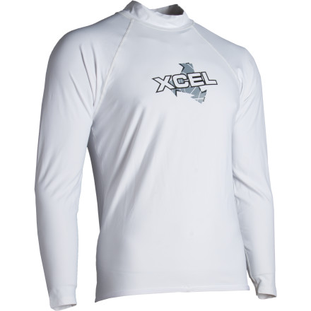 Surf When you don the XCEL Hawaii Men's Surf Shirt, you're not hoping for the ultimate remedy against a cold blast over a liquid abyss. You're in need of protection from over exposure and a thin, stretchy barrier against a crisp breeze off a chilled lake or glassy break. - $17.98