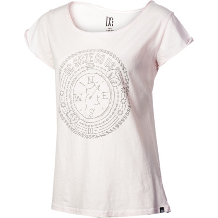 Skateboard DC Stormy Compass T-Shirt - Short-Sleeve - Women's - $15.60