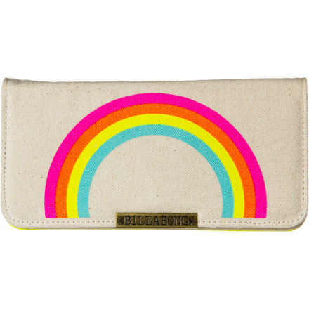 Surf Billabong Muy Feliz Bi-Fold Wallet - Women's - $25.03