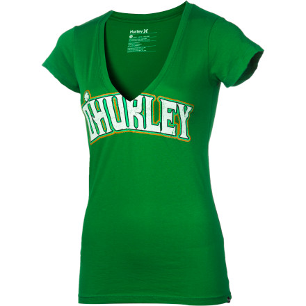 Surf O'Hurley Perfect V-Neck T-Shirt - Short-Sleeve - Women's - $21.95