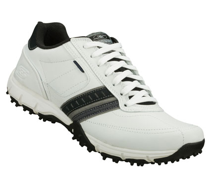 Clean; cool sporty style comes in the SKECHERS Urban Flex - Craggy shoe.  Smooth leather upper in a lace up sporty casual sneaker with stitching; overlay and perforation accents. - $59.00