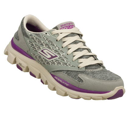 Fitness GO with a throwback look and feel with the Gym Pack limited edition Skechers GOrun Ride.  Features unique heathered mesh upper in special classic gray color.  Delivers a cushioned running experience. - $80.00