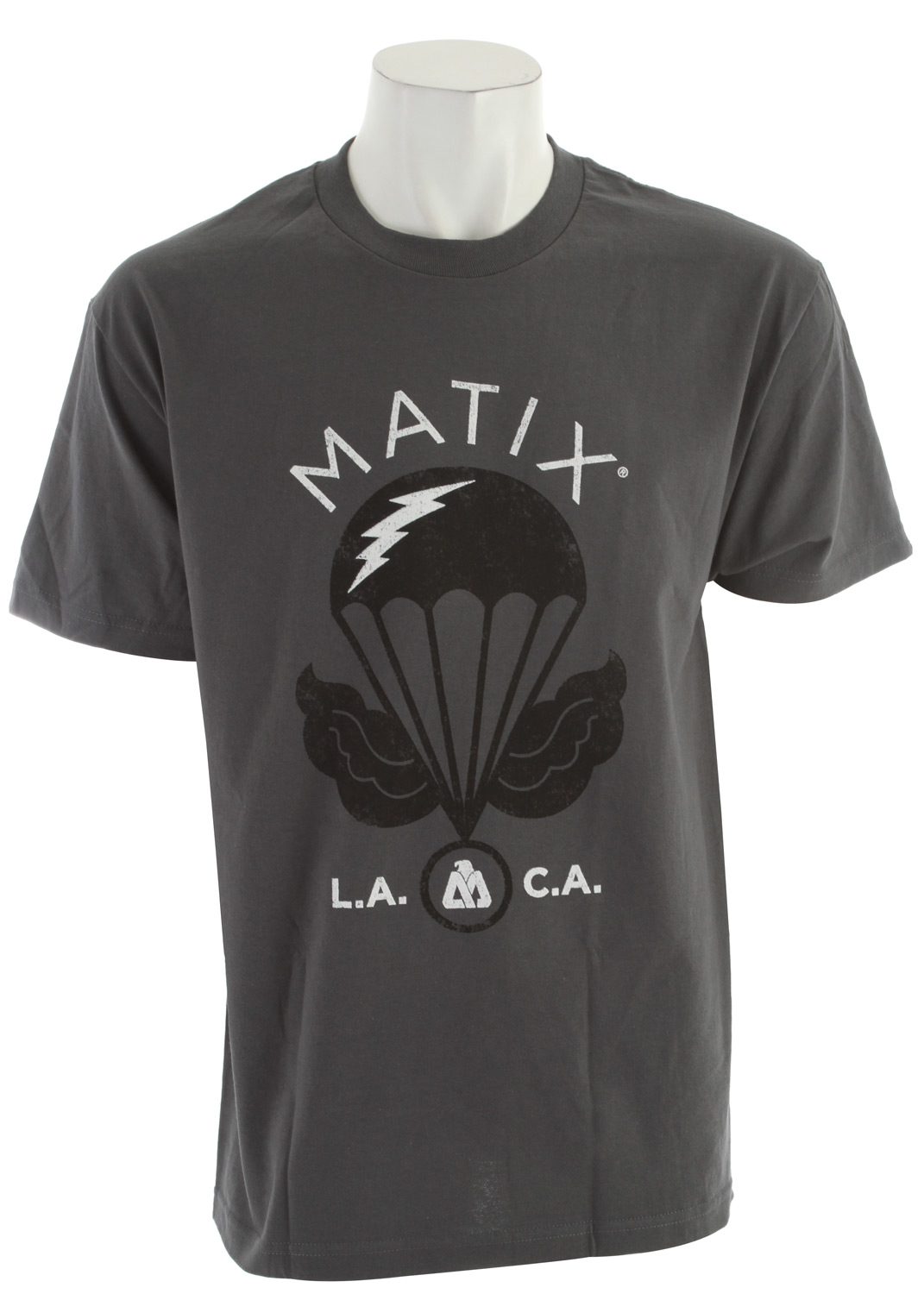 The Matix Brigade T-Shirt is one of those things that you just gotta have for your own. It's the unique style of Matix combined with a tried and true comfort that lasts with your everyday tasks. This bad boy has you covered when it matters the most.Key Features of the Matix Brigade T-Shirt:  Standard fit  100% cotton  Inkprint, with cuff label and monovert lower left back hit - $10.95