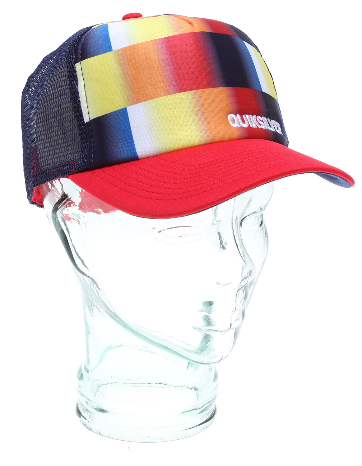 Surf Key Features of the Quiksilver Boards Cap: 50% Polyester, 50% nylon Foam front trucker hat with assorted sublimated prints - $13.95