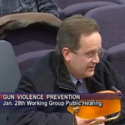 Check out a heartfelt testimonial from Newtown, Connecticut, resident Bill Stevens at a recent public hearing held by the Bipartisan Task Force on Gun Violence Prevention and Children's Safety.