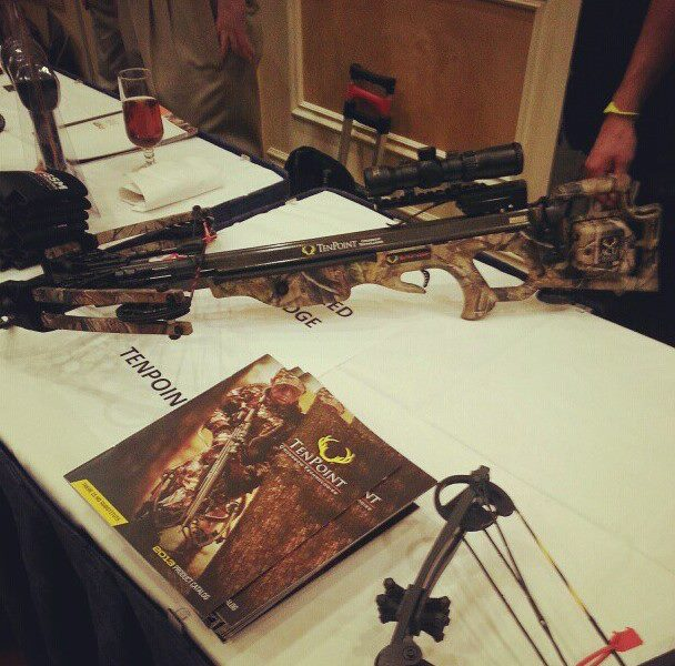 Awesome new Vapor from TenPoint™ Crossbow Technologies. It only weighs 6.8 lbs. & shoots at 360 fps.