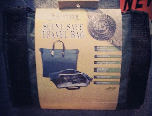 Hunter's Specialties has this new 3/4 size Scent-Safe travel bag.
