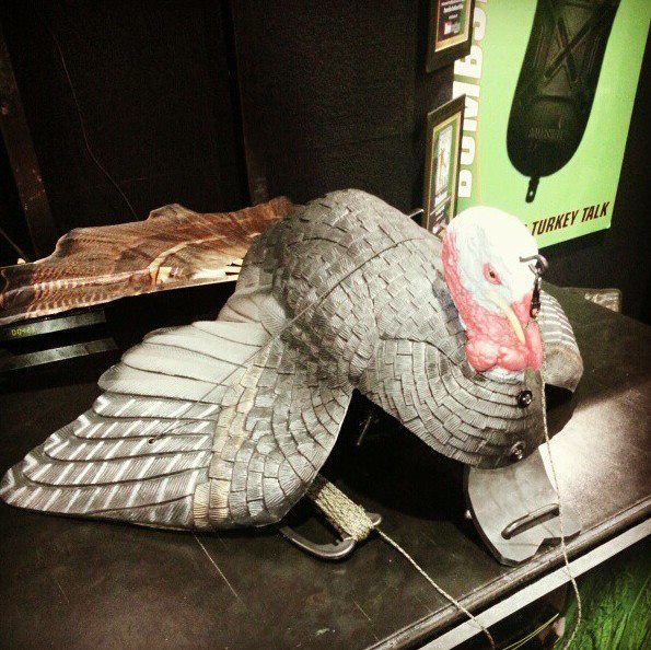Turkey hunters are going to be drooling over the new Primos Hunting Dirtyb injured gobbler