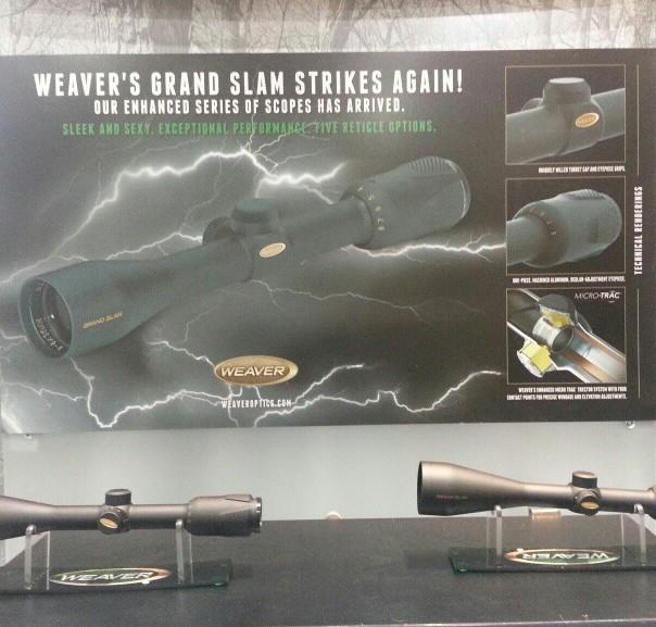 Sexy and sleek new line of Weaver Optics rifle scopes.