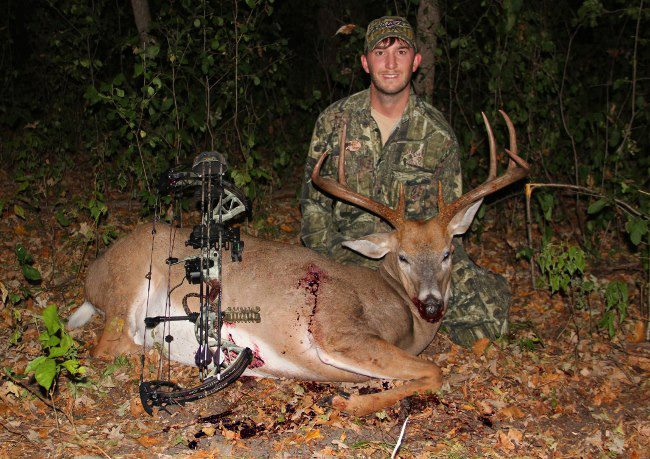 Web Editor Josh Dahlke scored on a big whitetail during Minnesota's opening weekend of archery season. For more details, check out J. Dahlke Hunting's latest blog post here: http://bit.ly/SFGa6a
