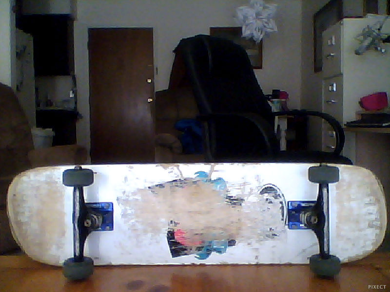 Skateboard got it at flamingos it is a flamingos board