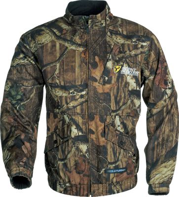 Hunting Your new odor-management game plan. This full-zip bomber-style camouflage hunting jacket has an innovative safety-harness slit in the back for easy attachment. It also has two lower snap pockets, an angled chest pocket with snaps, elastic cuffs and a wind-blocking, stand-up collar. Its versatile enough as a stand alone during warm-weather hunts or for layering during late-season, cold-weather hunts with the added bonus of ScentBlocker. The SPF 60 ScentBlocker Cold Fusion technology aids in odor control, allowing you to get closer to your target than you ever thought possible. 4 Direction Stretch provides an excellent range of motion and fit. Moisture-wicking and breathable, the XLT Series will keep you cool when its hot and warm when its cold. Imported.Sizes: M-2XL.Camo pattern: Mossy Oak Break-Up Infinity. Type: Jackets. Size: Large. Camo Pattern: Mossy Oak Break-Up Infinity. Size Large. Color Mo Break-Up Infinity. - $67.88
