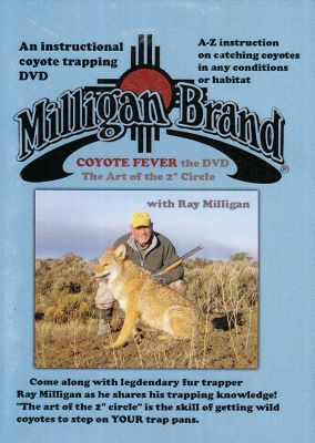 Hunting Legendary fur trapper Ray Milligan shares the trapping knowledge, methods and techniques hes used over four decades to trap coyotes. In this instructional DVD, hell teach you how to get coyotes to step on your trap pans. He wrote Coyote Fever in 1978, and it ranks as the best-selling coyote-trapping book ever. Through his years of commercial long lining, Ray has piled up catches that border on the unbelievable. Now you can watch as he shares his secrets. 120 minutes. Color: Coyote. - $39.99