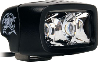 Fitness Rigid Industries SR-M LED Lights are ideal for off-road lighting. They will change the way you see the trail. Easy-to-use mounting hardware allows you to mount these LEDs to virtually any vehicle ATV, UTV, truck, boat, you name it. Ultraefficient LEDs produce superior light while using a fraction of the power required to run traditional bulbs. Rugged cast-magnesium housings are shock-, dust- and water-resistant. Includes rugged polycarbonate brackets, switch and hardware. Made in USA. 2.1H x 3W x 2.5D. Available: Hybrid Spotlight Two LEDs produce a far-reaching, 700-lumen white light out to 280 yards. Driving Light Three LEDs produce a wide field of 1,560-lumen white light out to 50 yards. Diffused Light Produces 784 lumens. Illuminates a larger area with a 60 flood pattern. Color: White. Type: Lights. - $94.99