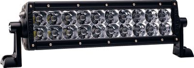 Fitness Rigid Industries revolutionary off-road LED lighting will change the way you see the trail. 10 E-Series Spotlight features 20 efficient LEDs that turn on instantly without having to warm up, produce an incredible 5,740 lumens and have a super-long 50,000-hour life span. 10 spot beam reaches 1,100 yds. Handles the rigors of off-roading thanks to an extra-tough polycarbonate lens; waterproof, shock- and vibration-resistant construction; and a strong 6063-aluminum two-piece housing. Over- and under-voltage protection. Built-in thermal management and Gore Pressure Equalizing Vent. RoHS compliant. Includes plug-and-play harness, switch, mounting bracket and hardware. Made in USA. Per each. 3.25H x 13.86W x 3.75D. Size: 10 SPOT. - $379.99