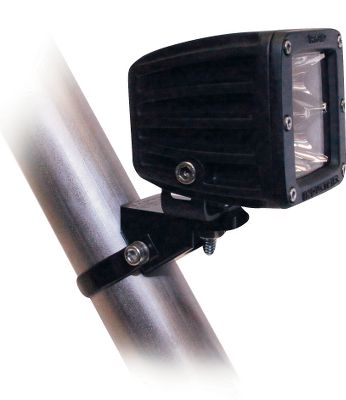 Motorsports Mount your LED light bar to your off-road vehicles tubing with a Rigid A-Pillar Mount from Rigid Industries. Made of machined aircraft-grade aluminum, each mount has a black anodized finish for increased durability. Easy to install. Stainless steel mounting hardware included. Made in USA. Size: 3.5. Color: Stainless Steel. Type: Single Bar A-Pillar Clamps. - $47.99