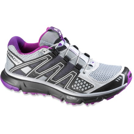 Fitness These Salomon XR Mission trail-running shoes are terrain-tackling, short- to middle-distance training shoes designed for women. - $54.83