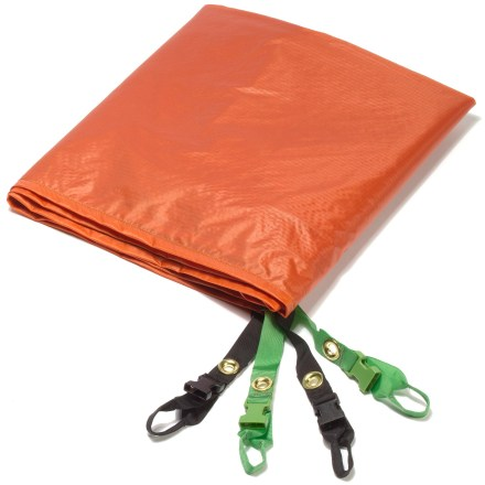 Camp and Hike Protect your Big Agnes Copper Spur UL2 tent's floor from wear and abrasion with this nylon taffeta footprint. - $70.00