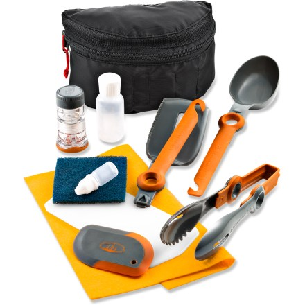 Camp and Hike The GSI nFORM Crossover Kitchen kit delivers innovative solutions to make mealtime more enjoyable in the outdoors. - $37.95